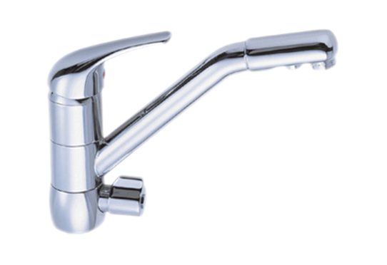 Dual Function Kitchen Faucet (Hot / Cold / Filtered)
