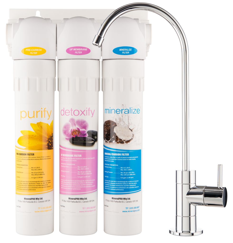 NEW! 700 SERIES Ultra Filtration Water System